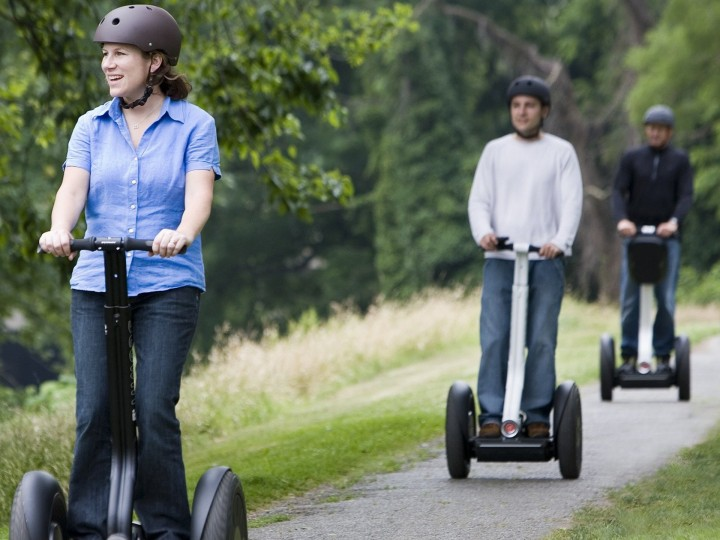 Segway biedt nieuwe kansen op leisuremarkt